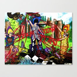 Fever to Tell Canvas Print