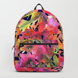 Midnight Magenta Garden Backpack