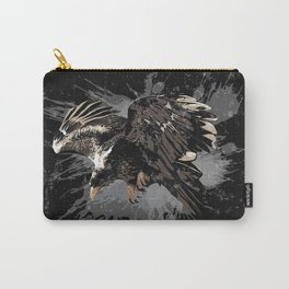Stylized Eagle Carry-All Pouch
