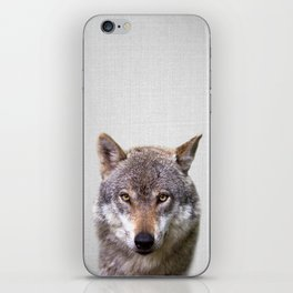 Wolf - Colorful iPhone Skin