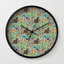 Candy Pattern Wall Clock