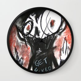 Fits of Anger Wall Clock