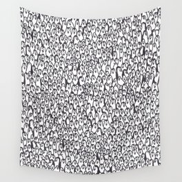 Lots of penguins Wall Tapestry
