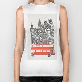 London Cityscape Biker Tank