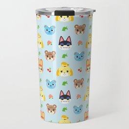 Animal Crossing - Blue Travel Mug
