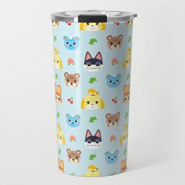 Animal Crossing - Blue Travel Mug