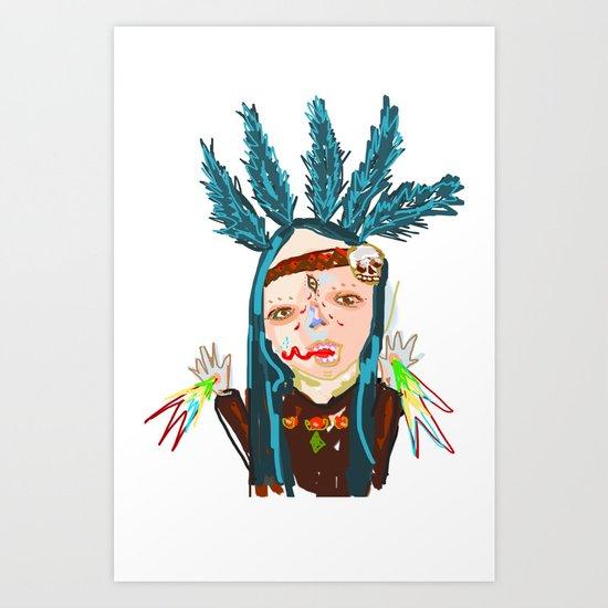 ahHHHHH #5 Art Print