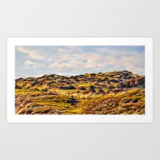 Crow Point dune Art Print
