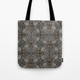 Feathers and bones -Desert sand Tote Bag