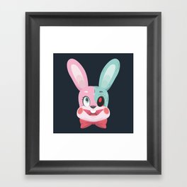 BLOODY BUNNY Framed Art Print