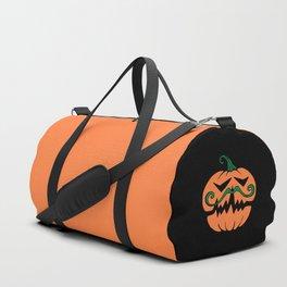 Hipster Pumpkin Duffle Bag