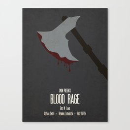 Blood Rage - Minimalist Board Games 09 Canvas Print
