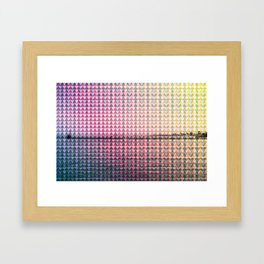 GEO/METRIC Framed Art Print