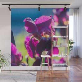 Irises Wall Mural