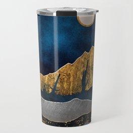 Midnight Desert Moon Travel Mug