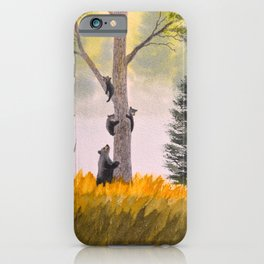 Bears In The Blue Ridge Mountains iPhone Case