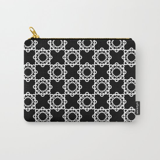 """Art Deco. """" Lola """"  black background . Carry-All Pouch"""