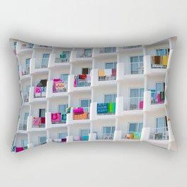 summer balcony Rectangular Pillow