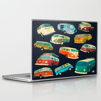 volkswagon Laptop & iPad Skins featuring Kombi Heaven by Buster Fidez