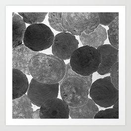 Abstract Gray Art Print
