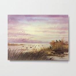 Duck Hunting Companions Metal Print