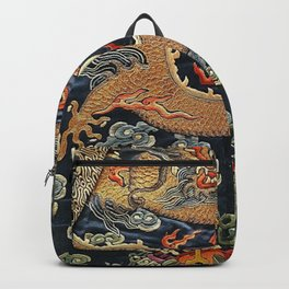 Embroidery-Dragon Backpack
