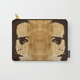 Half a face  Carry-All Pouch