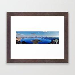 Crater Lake NP  Framed Art Print