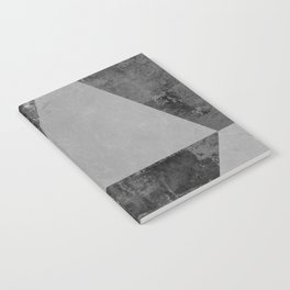 Landscape collage marble XV Notebook