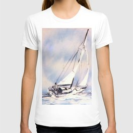 Sydney  to Hobart  Yacht Race        by Kay Lipton T-shirt