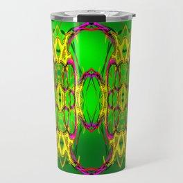 Colored fence ... Travel Mug