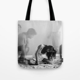 The Ghost that Broke a Heart Tote Bag