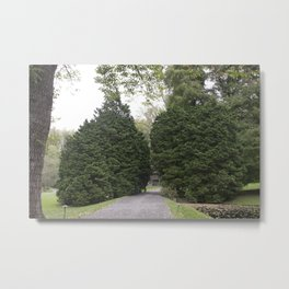 Longwood Gardens Autumn Series 12 Metal Print
