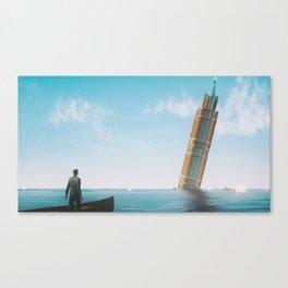 Acqua Alta Canvas Print