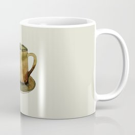 Mug on Plate Coffee Mug