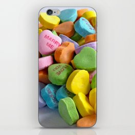My Heart Spills over with Love for You iPhone Skin