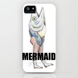 A Really Horrible Mermaid iPhone Case