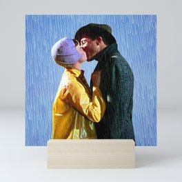 Singin' in the Rain - Blue Mini Art Print