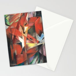 Franz Marc, The Foxes,1913 Stationery Cards