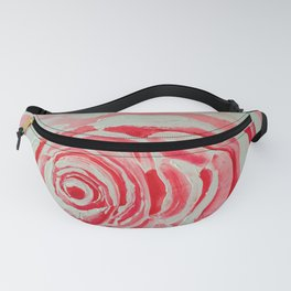 Where the Pink Roses Grow, Summer is Ending and Romantic Fall Nights are Here Fanny Pack