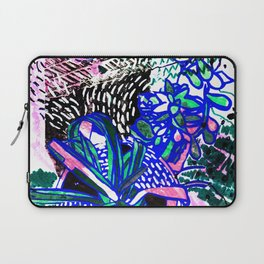Spider Plant and Succulent Laptop Sleeve