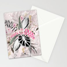 Abstract nature collage 02 Stationery Cards