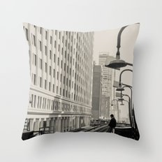 Interim Throw Pillow