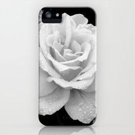Johann Strauss Rose-BW iPhone Case