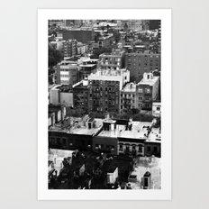 Lower East Side Skyline #3 Art Print