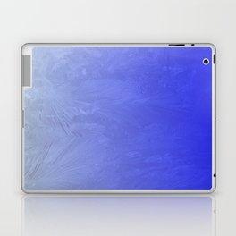 Blue Ice Glow Laptop & iPad Skin