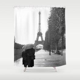 Paris Amour Shower Curtain