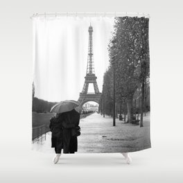 Paris Amour Shower Curtain