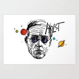 Gustav Holst The Planets Art Print