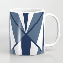 Spotlight in Navy Blue Coffee Mug
